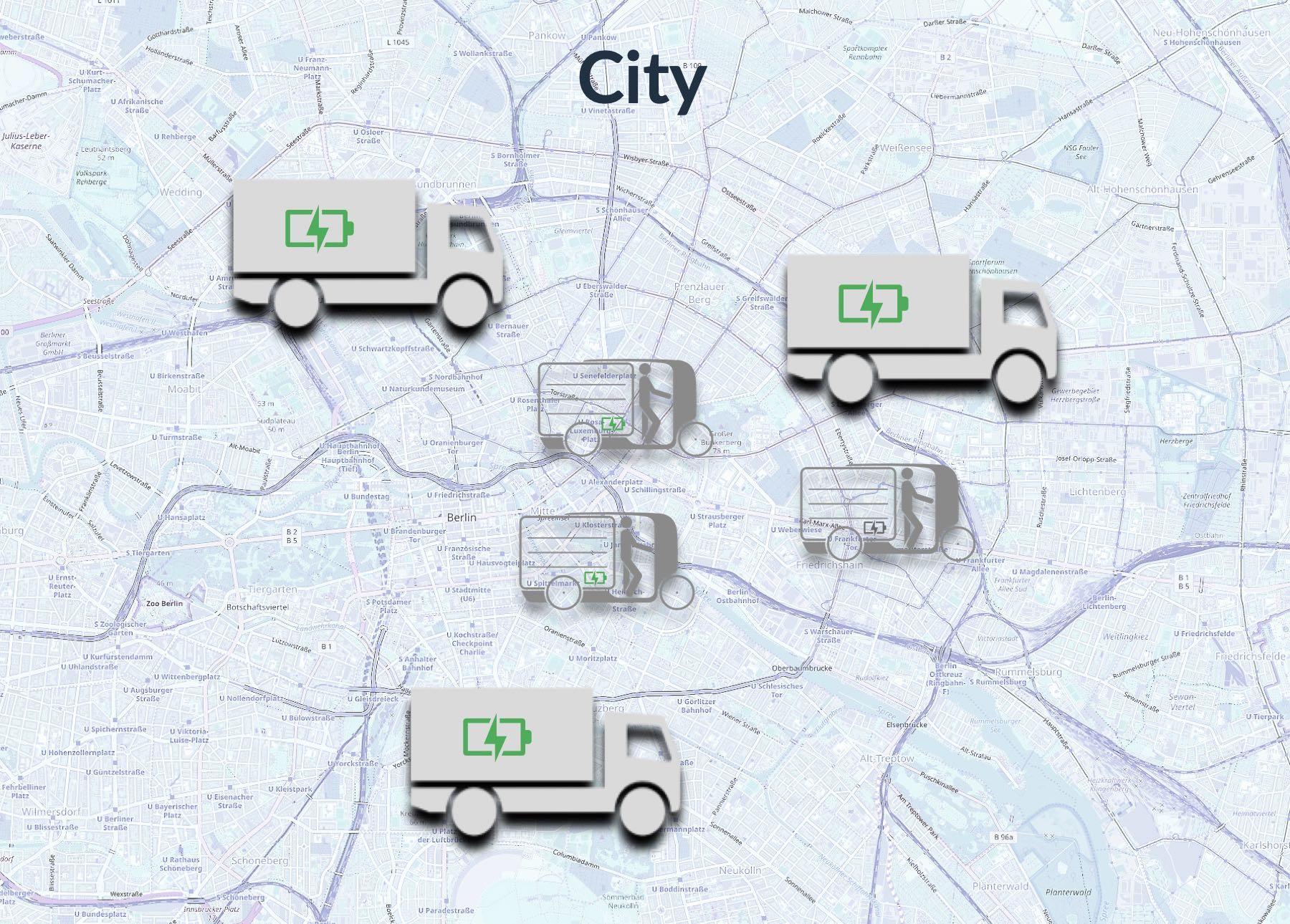 Klimafreundliche Cityverkehre